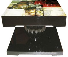 Hand-Painted Lacquer Table
