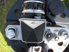 Nikon f 35mm slr film camera lens rare logo 'and light meter prism finder