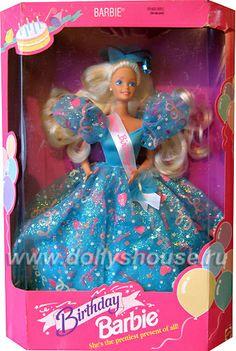Enorme vestido para la barbie cumpleañera