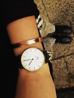 I have been on the hunt for a simple leather watch.  + Adding to my wants list