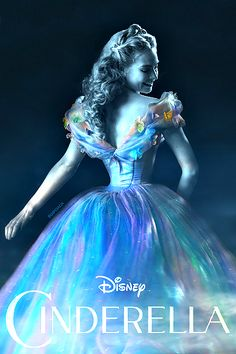 Cinderella in my opinion the worst remake ever! That dress just got me and I just Cinderella is me. This movie and the musical. Cinderella Live Action, Cinderella Movie, Cinderella 2015, Cinderella Dresses, Cinderella Castle, Disney And More, Disney Love, Disney Magic, Disney Art