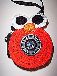 Elmo Shutter Lens Camera Buddy, I need to make Hunter one of these!