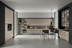 Chantal   Island grigio fango   Modern Kitchens   Pinterest