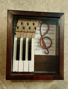 Piano shadow box 4