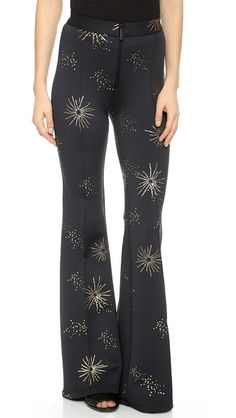 Cynthia Rowley Galaxy Print Pants