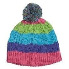 Girls stripe hat