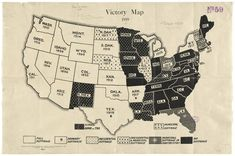 This map by the National Woman Suffrage Publishing Co., shows how limited voting rights were for women nearly a century ago. Women In History, World History, History Pics, History Images, History Class, Teaching History, Women Right To Vote, 19th Amendment, Geek