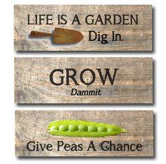 20+ Sweet & Funny Garden Sign Ideas - Empress of Dirt