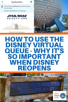 All the details for the new Disney Virtual Queue system for Disney World attractions. Disney World Secrets, Disney World News, Disney World Parks, Disney World Tips And Tricks, Disney World Attractions, Walt Disney World Vacations, Disney World Resorts, Disney Vacation Planning, Disney World Planning