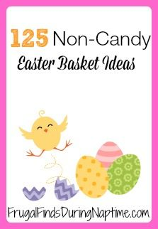 Easter basket ideas that are not chocolate spring easter 125 non candy easter basket ideas ffdnt negle Choice Image