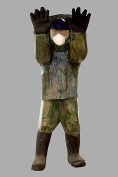 Francisco Leiro Contemporary Sculpture, Figurative, Wood Art, Sculpture Art, Sculptures, Wood, Art, Tree Art