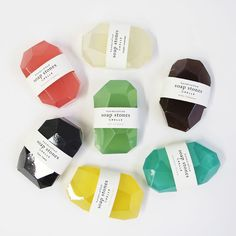 The creators of PELLE Designs bring us Soap Stones, a handcrafted     glycerine soap intended for both use and display.
