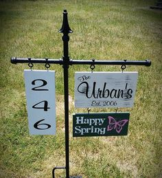 Free Shipping Personalized Yard Signs Yard Signs by SignChik