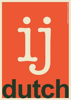 Y... Dutch... love it! Still will write ij in place of y in my English words sometimes!
