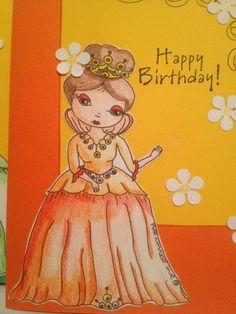 Talula queen digi I drew for a birthday challenge.
