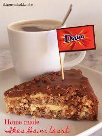Ik hou van bakken: Home made Ikea Daim taart (glutenvrij) Cupcakes, Cake Cookies, Cupcake Cakes, Daim Cake, Cake Recipes, Dessert Recipes, Beautiful Desserts, Almond Cakes, Party Desserts