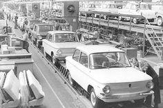 NSU Prinz 4 und Prinz III Produktion (1961) ☺