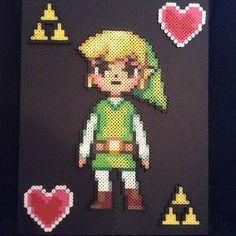 Link - Legend of Zelda perler beads by perler_purrs