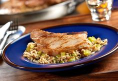 Pork Chops and French Onion Rice Recipe - Campbell's Kitchen