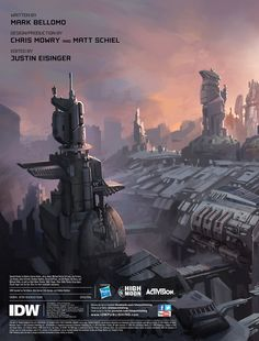 Fall of Cybertron, Concept Art