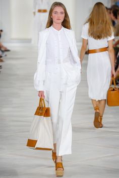 Vlada Roslyakova at Ralph Lauren Spring/Summer 2016 | NYFW
