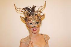 Q u i B e l l e: An Animal Fashion Affair: Masks for a Ball