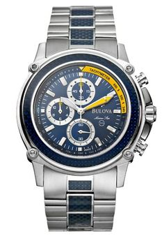 Men's Wrist Watches - Bulova Mens Marine Star Watch 96A003 * Find out more about the great product at the image link.