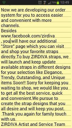 Contact info : zirdiva@gmail.com For ZIRDIVA news and new launch showcase, Pls Click Like Page, www.facebook.com/zirdiva Follow Me Instagram And Line ID: ZIRDIVA_WATCH_STRAP  Tumblr: ZIRDIVA Twitter: ZIRDIVA