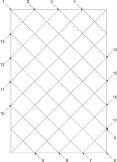 Machine Quilting Sequence - Kathy K. Wylie Quilts - Straight Line Sequence Diagonal Set for quilting grid - Quilting Stencils, Quilting Templates, Longarm Quilting, Free Motion Quilting, Quilting Tutorials, Quilting Tips, Machine À Quilter, Machine Quilting Tutorial, Machine Quilting Patterns