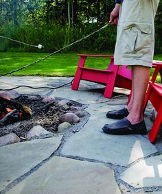 Wouldn't be Canada Day without toasting marshmallows around a fire!