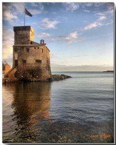 #Castle   Rapallo GE, Liguria, Italy