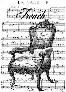 **FREE ViNTaGE DiGiTaL STaMPS**: Free Vintage Digital Stamp - French Chair Collage