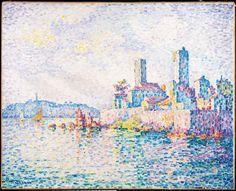 Paul Signac, Antibes, die Türme - Antibes, the Towers, 1911 © Albertina, Wien – Sammlung Batliner