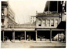 Angus & Robertson, Sydney, 1916 #StoreExterior