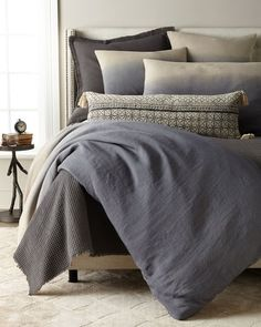 Shop Harmony Standard Sham and Matching Items from Amity Home at Horchow, where you'll find new lower shipping on hundreds of home furnishings and gifts. Best Bedding Sets, Bedding Sets Online, King Bedding Sets, Duvet Sets, King Comforter, Bed Linen Design, Bed Design, Linen Bedding, Bed Linens