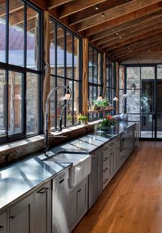 Amazing kitchen with tons of windows #LGLimitlessDesign #Contest