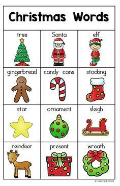Writing Center with Christmas words and Christmas writing paper for Kindergarten. Christmas Writing, Christmas Words, Preschool Christmas, Kids Christmas, Christmas Cooking, English Activities, Writing Activities, Preschool Activities, Writing Centers