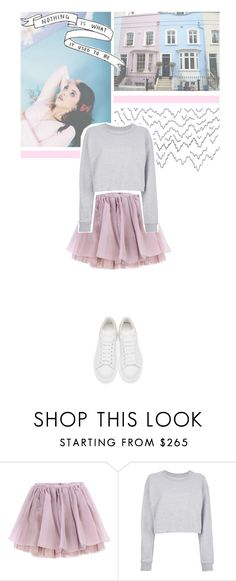 """""""i'm not a piece of cake..."""" by nxtmoon ❤ liked on Polyvore featuring Olympia Le-Tan, Maison Margiela and Alexander McQueen"""