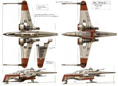 If I had to choose a starfighter it would be the ARC-170