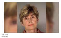 """Fucking Racist Bitch of the week - Jail records show the Macon woman was arrested and released on $650 bond. The deputies wrote that they were still investigating and more charges could be pending. WMAZ reports that Cheddar's issued a statement saying: 'We were appalled by the behaviour of the individuals who confronted the two female service members."""" """"Such behavior flies in the face of our values, and those individuals are no longer welcome in our restaurant."""""""