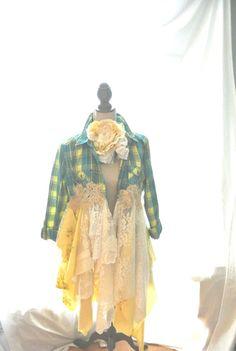 Gypsy vagabond coat Bohemian duster boho fall by TrueRebelClothing, $110.00