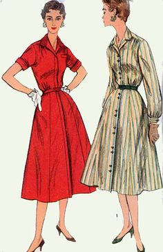 1950s Vintage Sewing Pattern Simplicity 1244 by sandritocat, $15.00