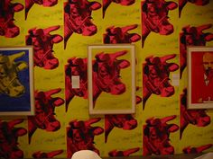 Cow, Andy Warhol by d.goligorsky, via Flickr