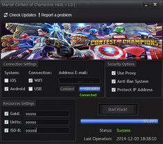 MARVEL Contest of Champions Hack ~ How To Hack
