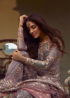 latest bridal photoshoot by maya ali, gorgeous look, stylish dress design , pakistani latest fashion, bridal photoshoot ideas Shadi Dresses, Pakistani Formal Dresses, Pakistani Wedding Outfits, Pakistani Wedding Dresses, Pakistani Dress Design, Bridal Outfits, Pakistani Clothing, Wedding Hijab, Desi Wedding Dresses
