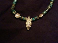 Shaman necklace. $900.00, via Etsy.