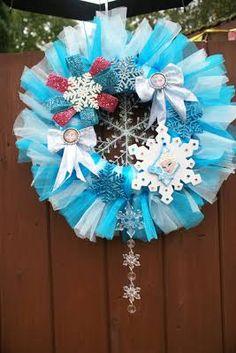frozen wreath - Google Search