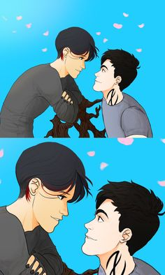 "Su-pectrum: ""Why don't we start with that date you owe me?"" Malec. Oh my God that hair of Magnus' is killing me."