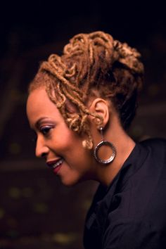 Cassandra Wilson, Jazz Musician, 56. (I wanna look this good if I live to that age.)