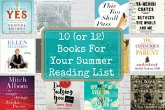10 (or 12) Books For